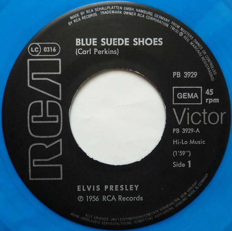 Blue Suede Shoes  / Promised Land Bluesuedeside1j3uyo