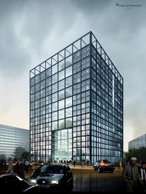 Schillerpassage Frankfurt frankfurt eschborn deutsche borse stock exchange cube 92m 22
