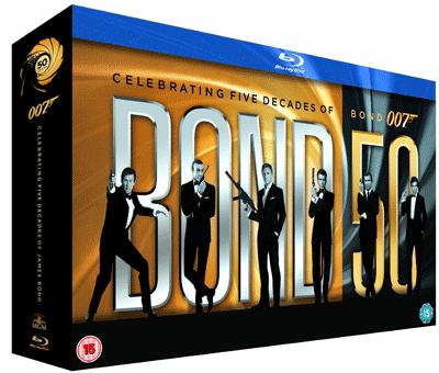 James Bond Complete Collection mit 22 Filmen [Blu-ray] + 6 Monate Playboy für 115€ oder 6 Monate cinema für 99€ (statt 140€)
