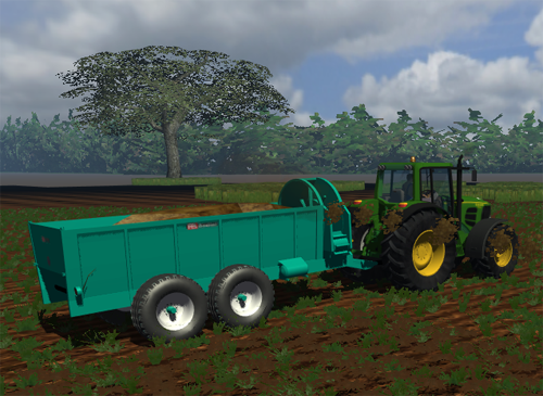 Bossini Manure Spreader