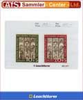 1000 Briefmarken - Einstecktaschen, Einsteckkarten weiß
