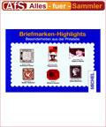 Michel Briefmarken Highlights Besonderheiten - farbig !