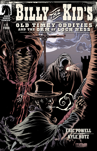 Billy the Kid's Old Timey Oddities and the Orm of Loch Ness #1-4 (2013) Complete
