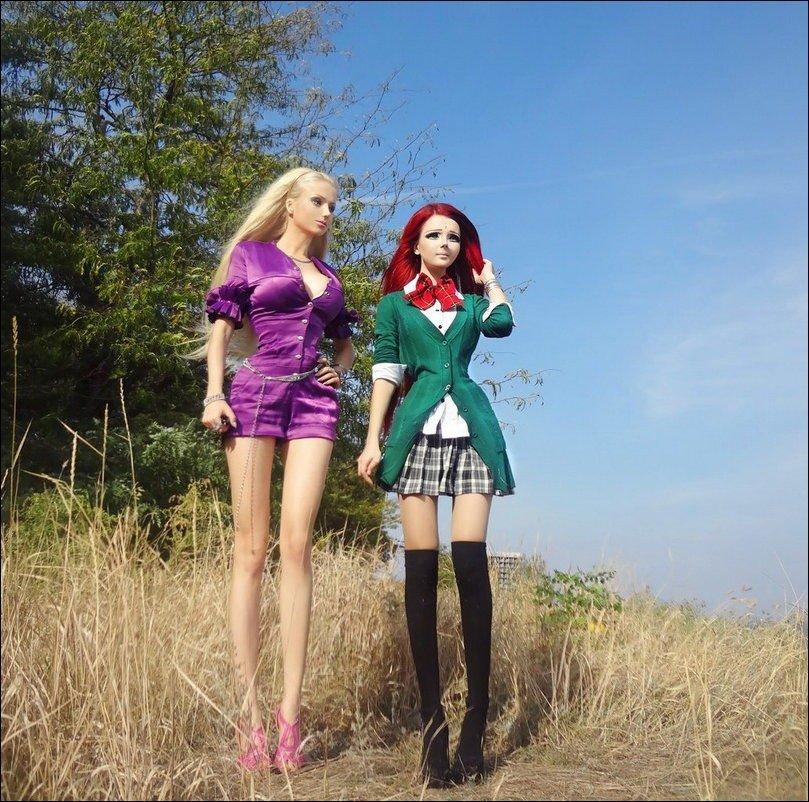 Dziewczyny przypominające lalki #2 1