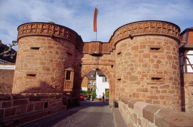 Das Jerusalem-Tor in Büdingen