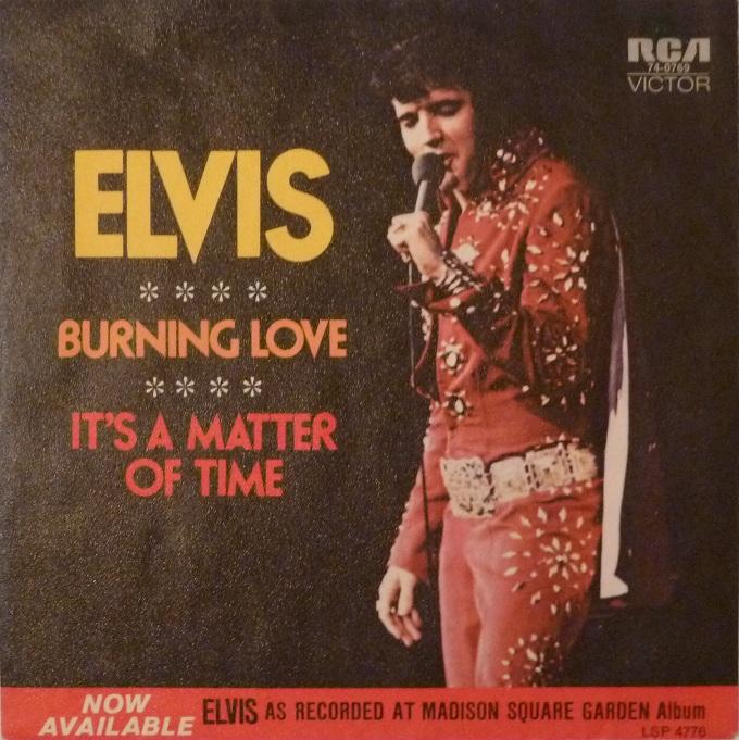 Burning Love / It's A Matter Of Time Burningfronttt7em