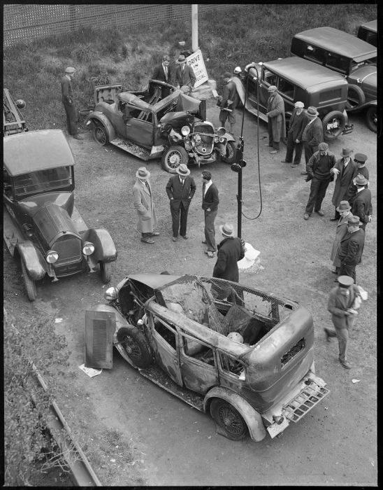 Wypadki samochodów w latach 30. 19
