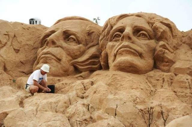 Rzeźby w piasku #2 34