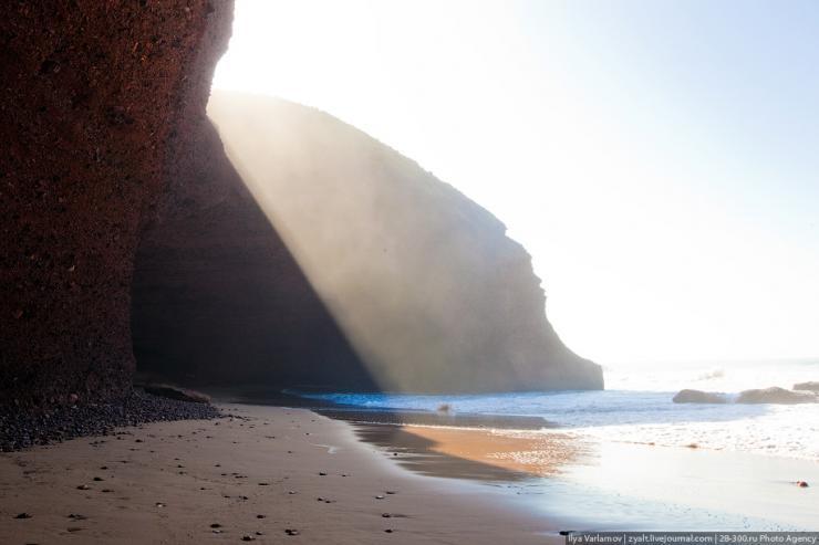 Plaża Legzira w Maroko 9