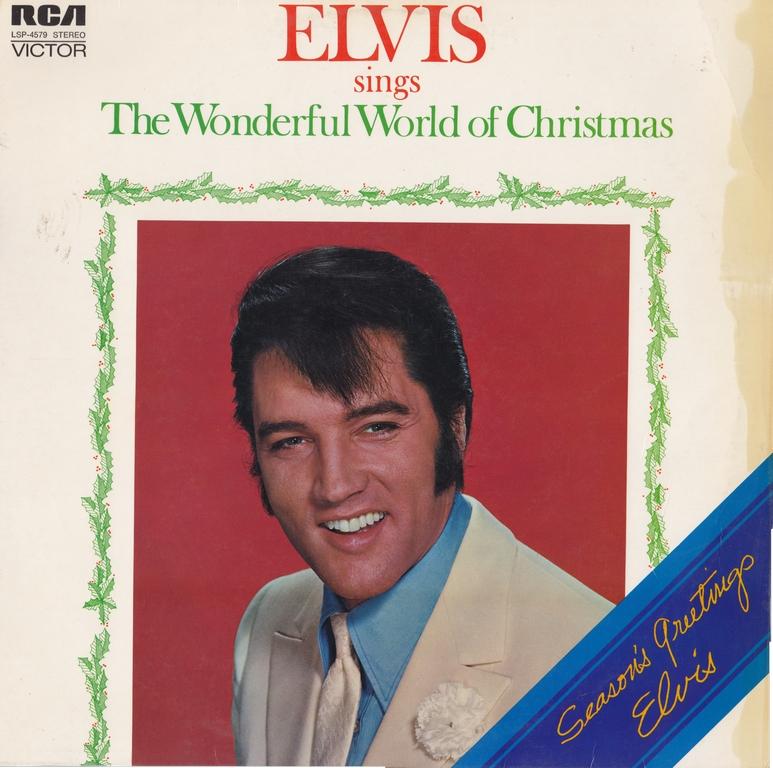 ELVIS SINGS THE WONDERFUL WORLD OF CHRISTMAS Ca71frontvskim
