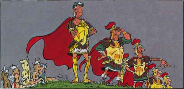 Was trägt ein römischer general