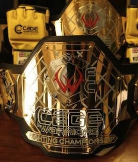 Der CWFC Gürtel. (Foto: MMASpot.com)