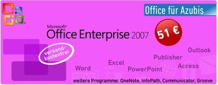 Microsoft Office 2007 Enterprise für Azubis