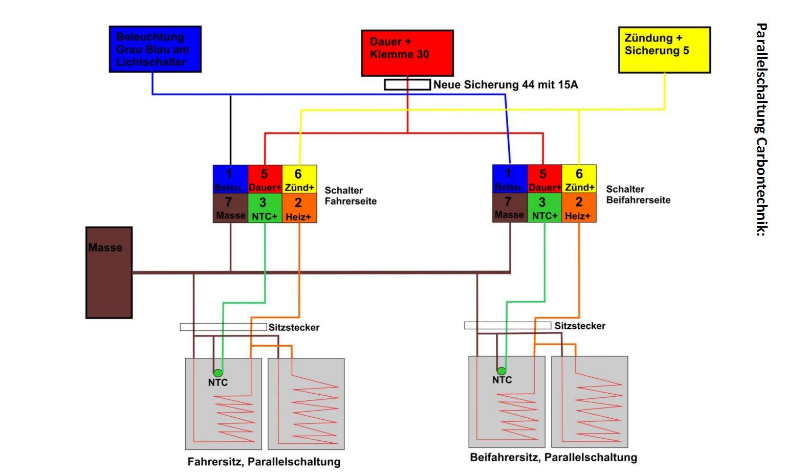 Sitzheizung einbauen - Seite 9 - Audi 80 Allgemein - Audi 80 Scene ...