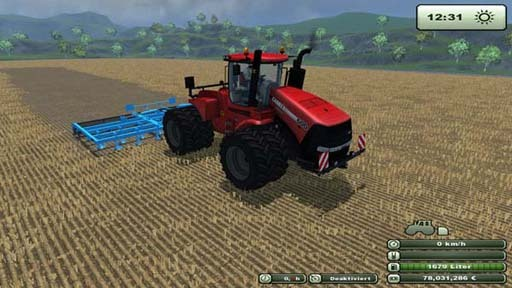 CaseIH 600 All Wheel Steer v 1.0