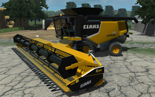 CLAAS Lexion 770 American Version Pack (Reflections Collection)