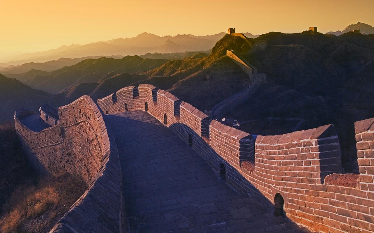 Chinesische Mauer Wallpaper Chinesische Architektur…