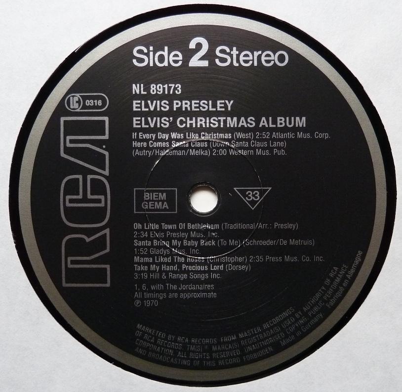 ELVIS' CHRISTMAS ALBUM (1970) Christmasalbum84side2jjaod