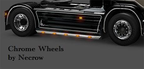 Chrome wheels  Euro Truck Simulator 2 Mods Ets2 Mods