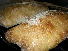 Ciabatta crust