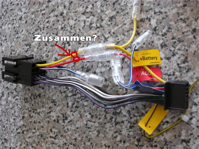 Neues Radio! bin ich dabei die richtigen Kabel zu tauschen? - HiFi ...