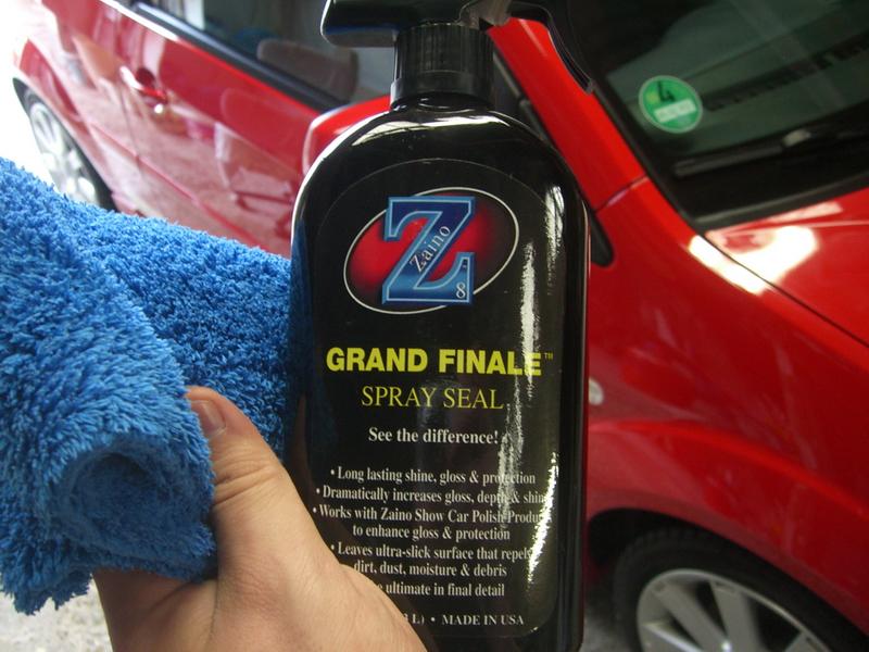 Fiesta ST First Winterwash Detailing World - Show car ultra shine detail spray