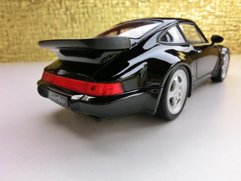 1 18 black is beautiful oder porsche 911 964 turbo update. Black Bedroom Furniture Sets. Home Design Ideas