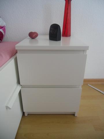 Ikea Malm Nachttisch Weiß | tomish.net