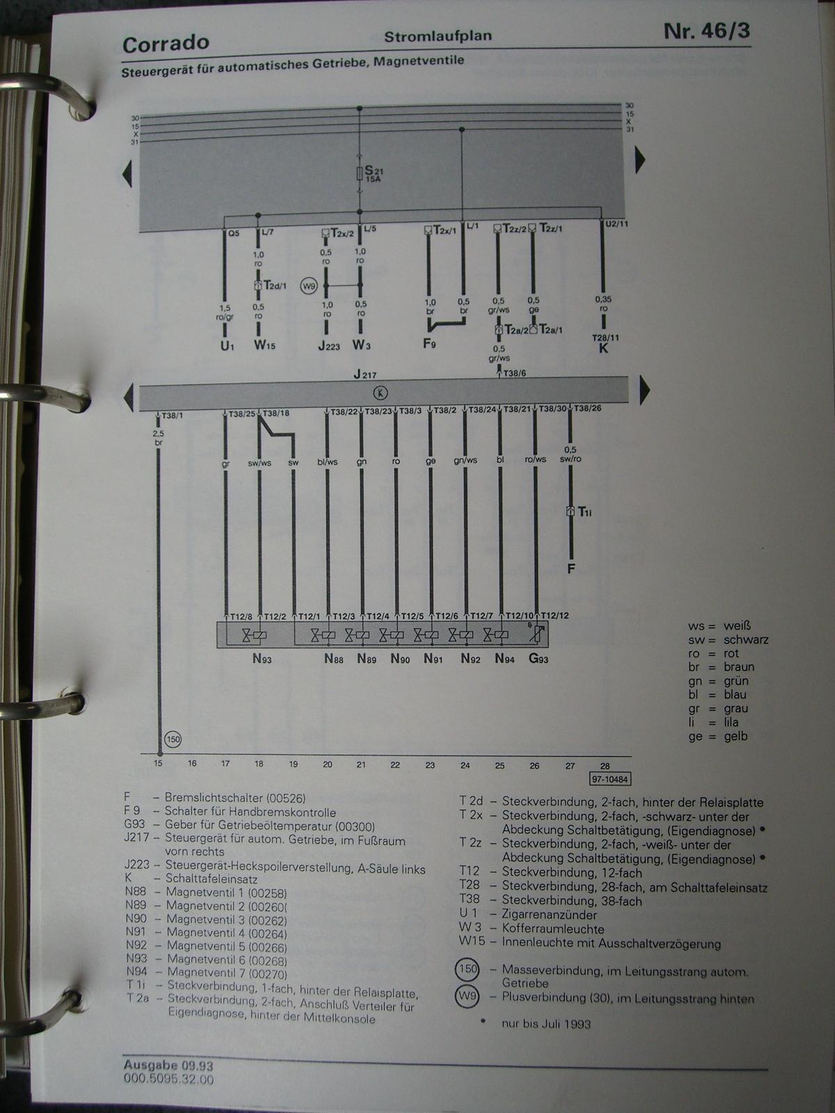 Atemberaubend Vw Vr6 Motor Schaltplan Galerie - Elektrische ...