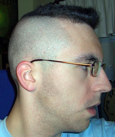 Haarschnitt nach kopfform