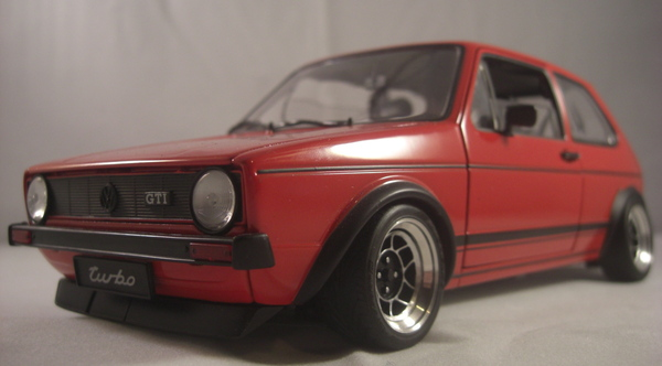 vw golf 1 gti ats classic alufelgen tuning umbau 1 18 on. Black Bedroom Furniture Sets. Home Design Ideas