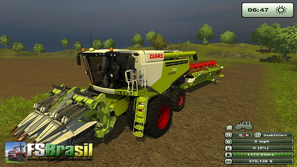 Pack CLAAS Lexion 780 Dual Wheels