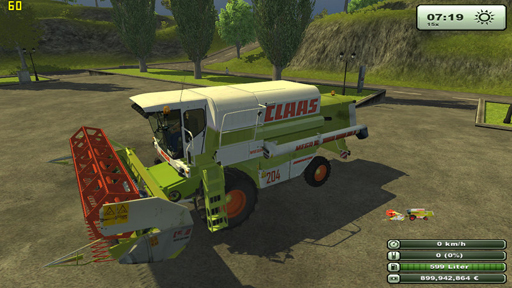 CLAAS MEGA 204 v1 edit by Pavson69