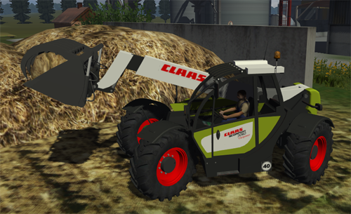 CLAAS Scorpion 7040 Varipower v5