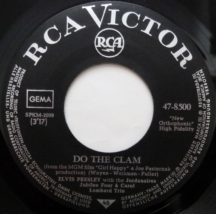 Do The Clam / You'll Be Gone Clamside1f9pdp