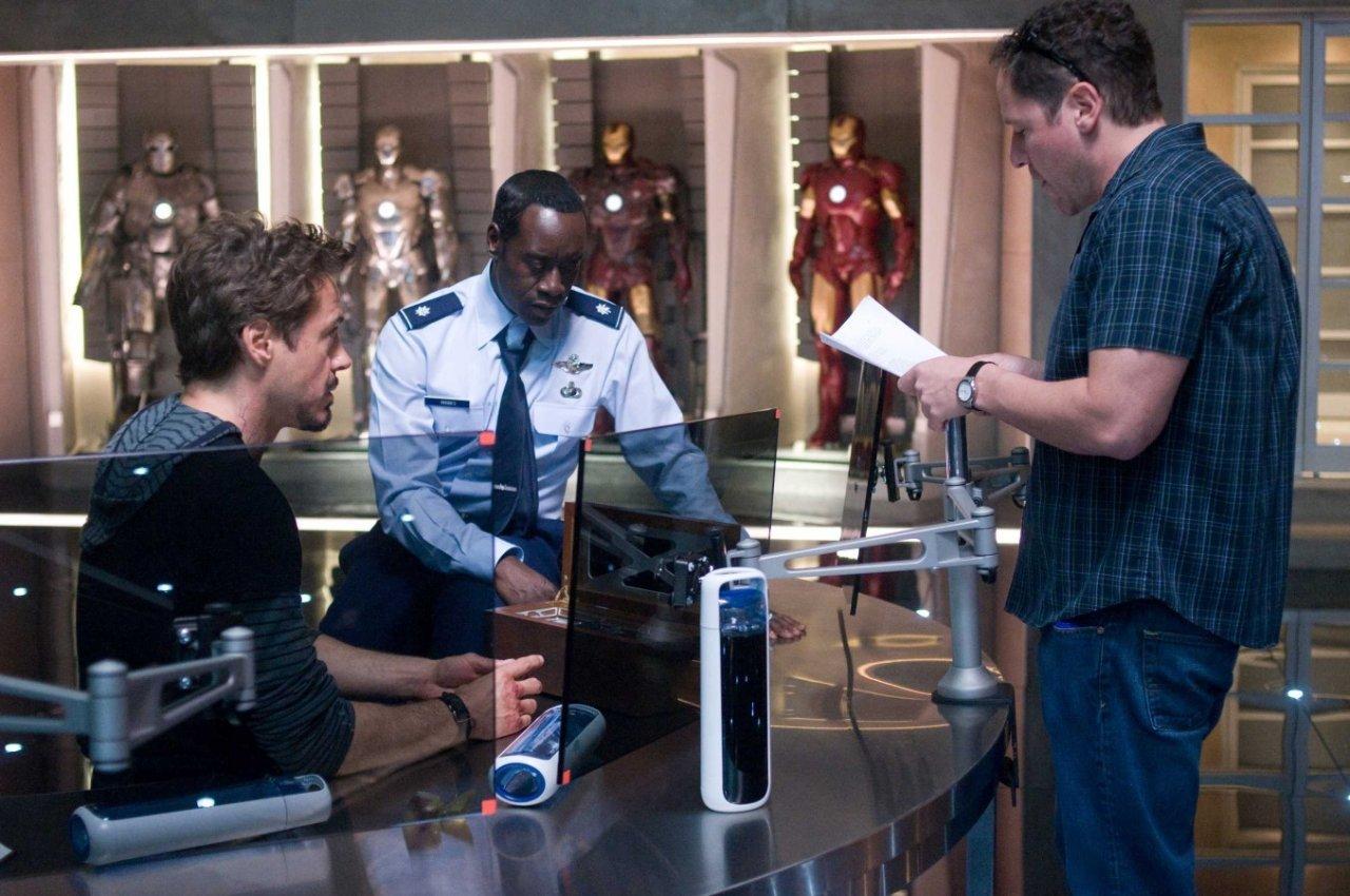 Za kulisami filmów: Iron Man 2 5
