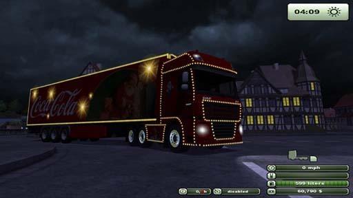 Coca Cola Truck Trailer V 1