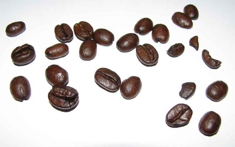 Bohnen - erster Eindruck zum Coffeecube