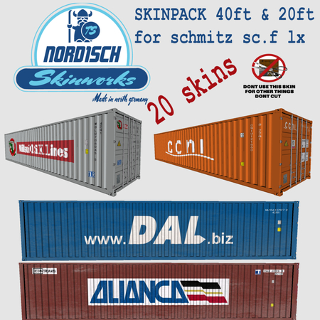 Skins Containerskinpack2a0xc