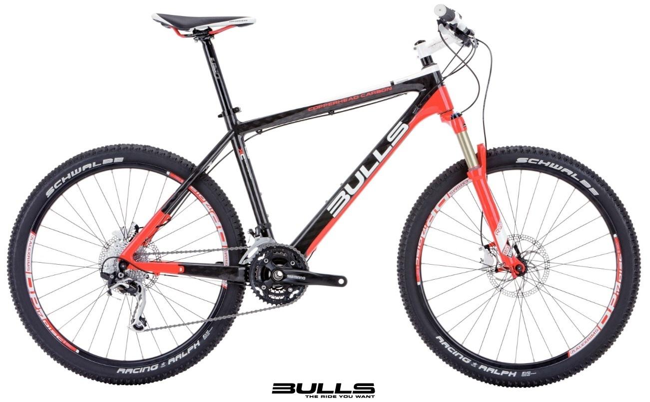 mountainbike bulls copperhead carbon 26 zoll fahrrad mtb. Black Bedroom Furniture Sets. Home Design Ideas