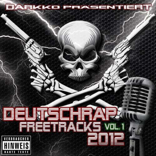 Cover: VA - Deutschrap Freetracks 2012 Vol. 1 (2 CD´s)