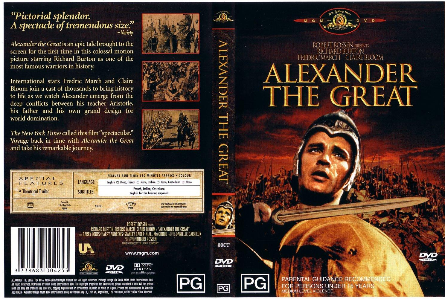 Alexander the great movie download