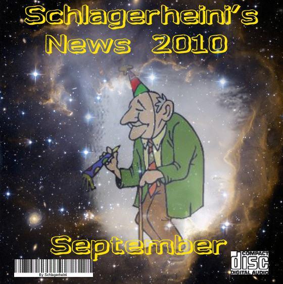 Schlagerheinis News 2010 - September