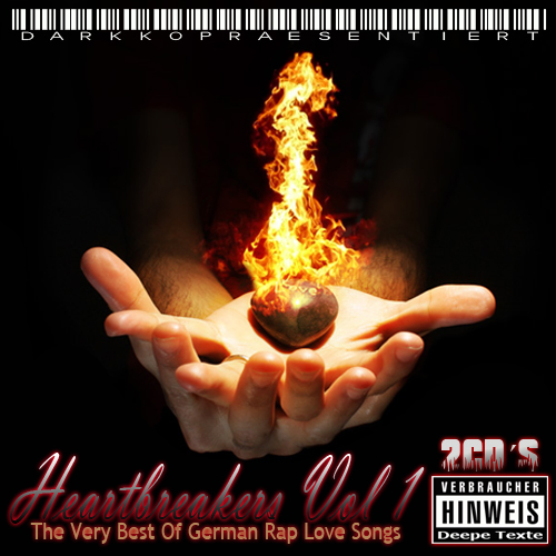 Cover: VA - Heartbreakers Vol. 1 - The Very Best Of German Rap Love Songs (2011)