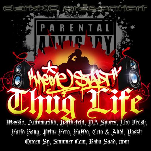 Cover: VA - Thug Life - Meine Stadt (2CDs) (2011)