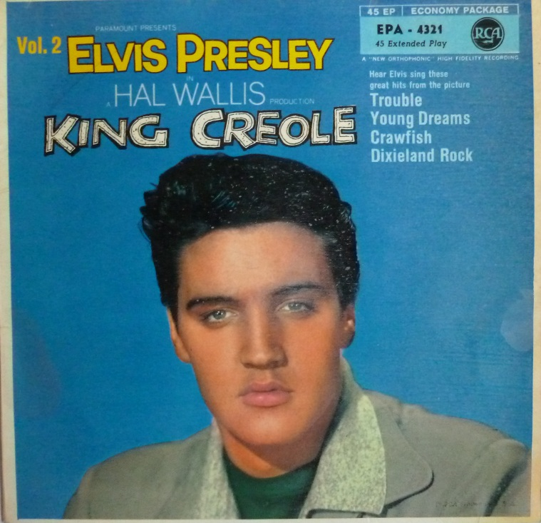 KING CREOLE Vol. 2 Creole2frontjb0no