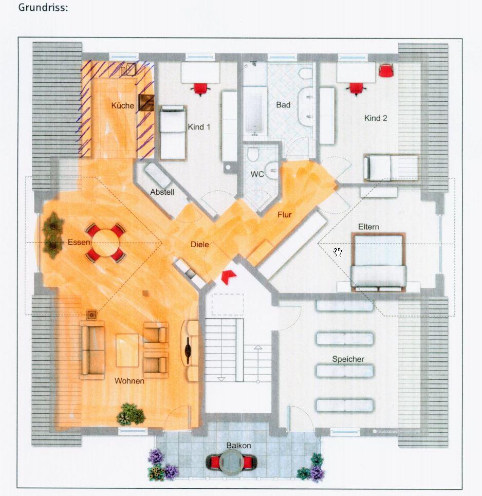 Hilfe Bei Verlegerichtung Bei Parkett Heimwerker Forum - Parkett verlegerichtung fenster
