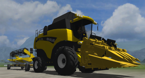 New Holland CX740 Pack - MP ready