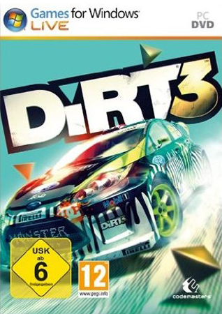 Cover: Dirt.3-SKIDROW  *Deutsch/Englisch*