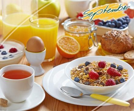 DailyDeal Hamburg: Großes Gourmet Frühstück für 2 Personen im September ab 9,50 €!